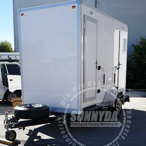 Custom event eps container environmental modular portable trailer toilet with bottom price