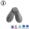 Gray Coral Fleece Slipper
