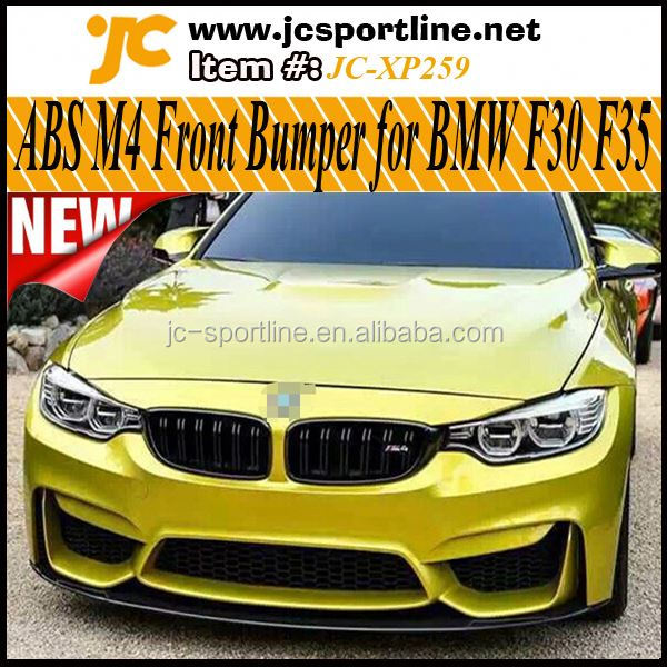 New 2014 3 Series ABS M4 Front Bumper For BMW F30 Car Bumper Auto Bodykits