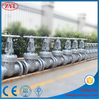 China supplier butterfly valve oil and gas sluice gate