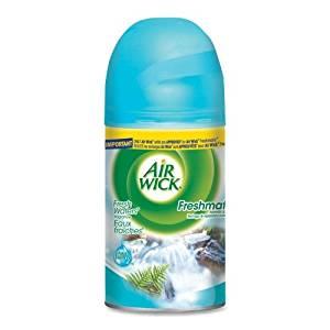 Wholesale CASE of 20 - Reckitt & Benckiser Air Wick Freshmatic Kit Refill-Air Freshener Refill, for Freshmatic Kit, 6.17 Fresh Water