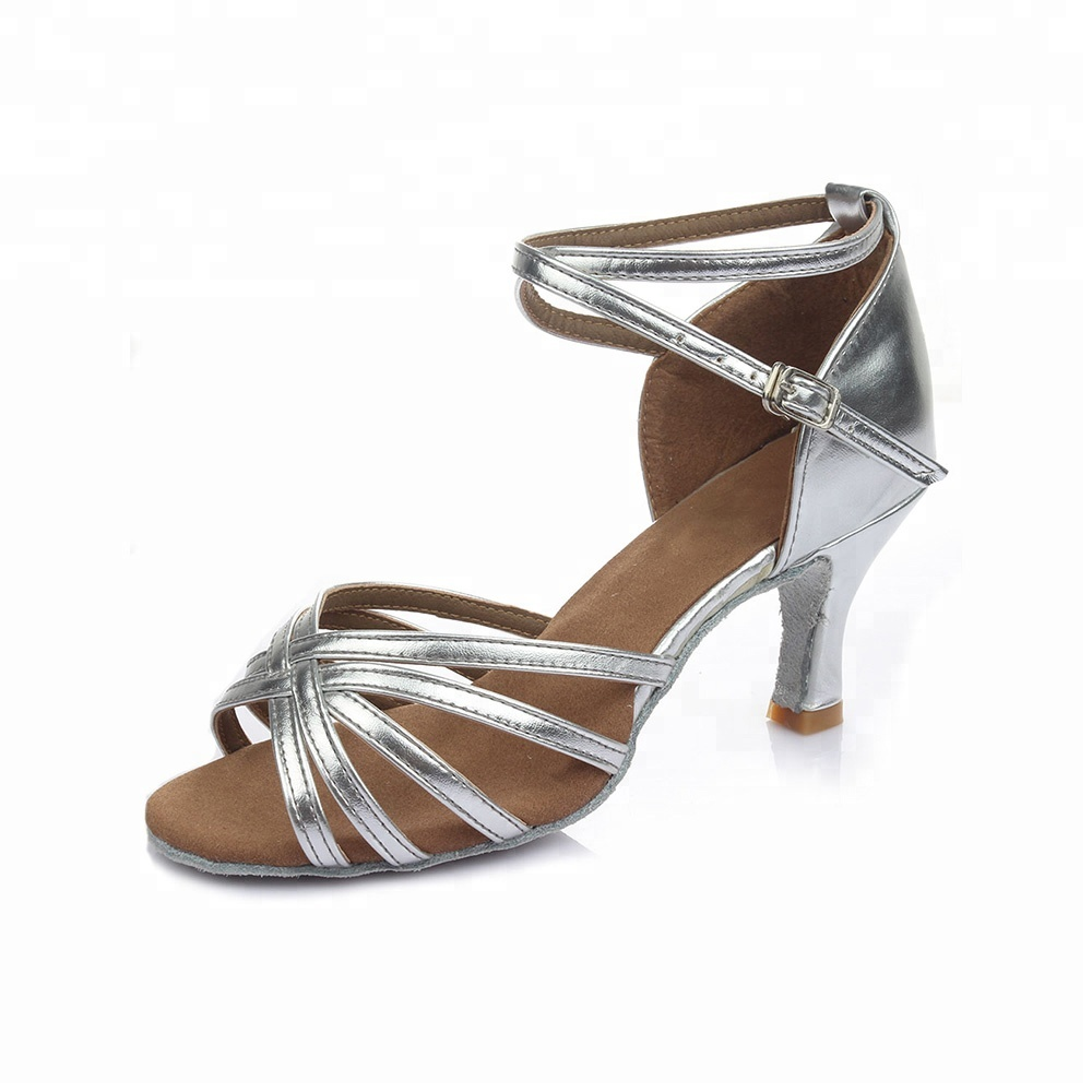 Sneakers Dance Shoes High Quality Women Latin Shoes Rubber Outsole 5.5cm Heel Dance Shoes Size 34-42