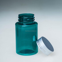 30ml pharmaceutical plastic bottle for pill with screw metal cap wholesale high quality cheap