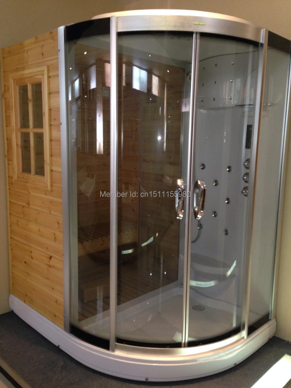 Luxury Home Sauna Cedardirect Com: Luxury Steam Sauna Room SA022-in Sauna Rooms From Home