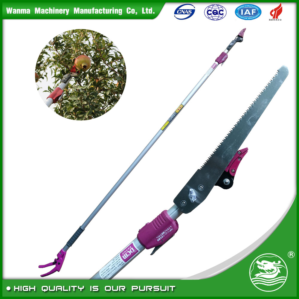 WANMA2140 2017 New product telescopic extendable high reach tree pruner