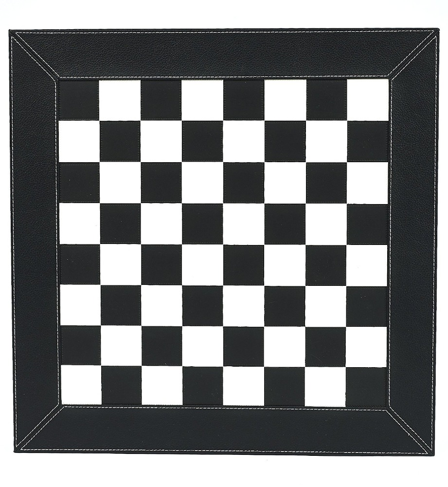 customize pu leather checkers chess board silkprint