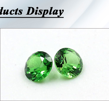 wholesale good quality natural round 3.0mm diopside loose gemstone
