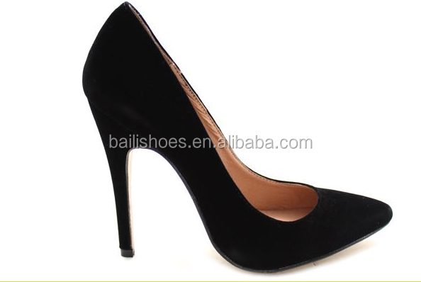Italian Design stiletto high heel monochrome courts