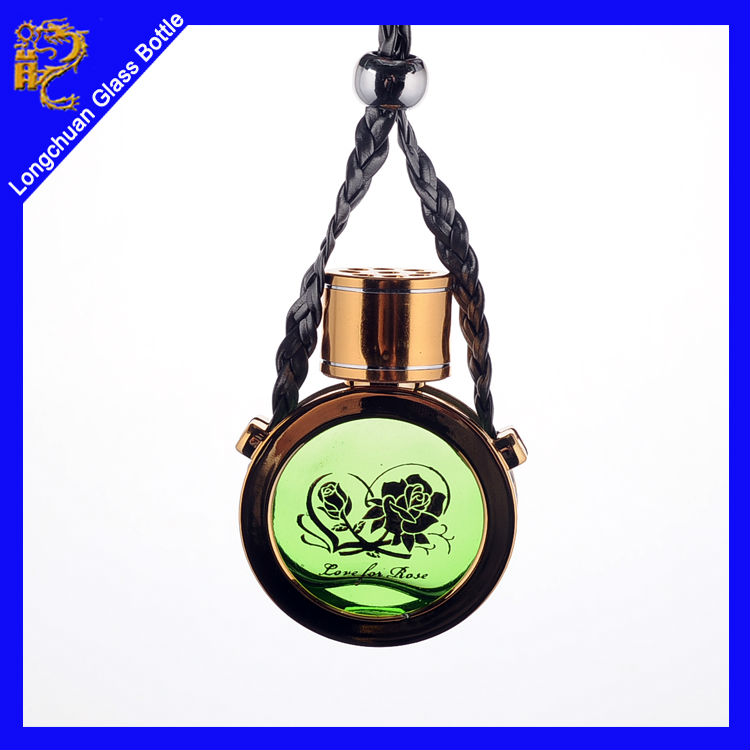 Fashion Hanging Car Perfume Bottle Pendant