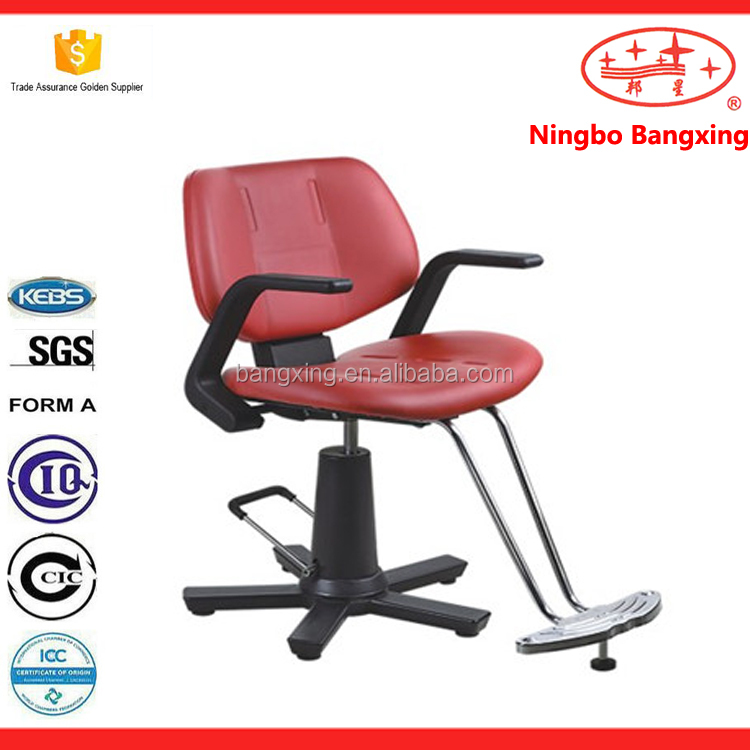 BX-A88 wholesale barber shop best design salon beauty women's barber chair exporter made in china red barber chairs