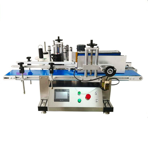 YTK Brand Tabletop Small Vial Sticker Automatic Round Bottle Labeling Machine Price