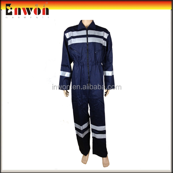 Blue Design Workwear Uniform Safety Fireproof Protective Overalls
