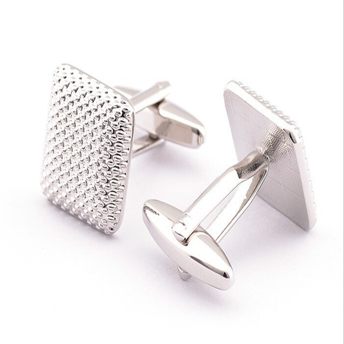 2015 New Arrival Elegant Cufflinks For Men Glossy Three-Dimensional Emboss Spots Pattern Exquisite Cuff Button Cuff link