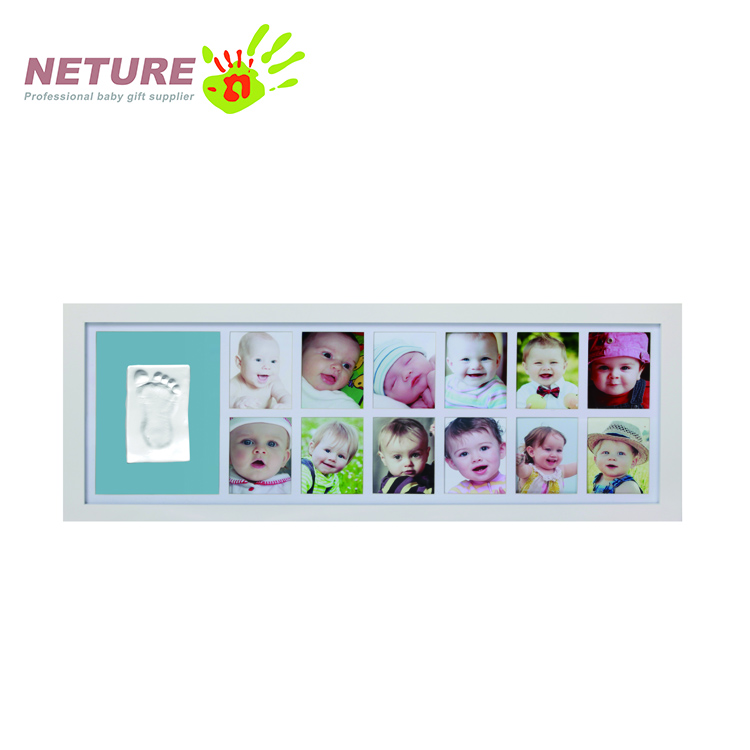 Baby 12 Month Photo Frame Newborn Baby Gift Set Wall Photo Frame ...