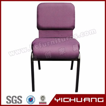 hot sale theater furniture padded church chairs soft mold foam church chair for sale ycx