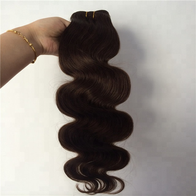 Last Longest One Donor Dark Brown #2 color 9A Virgin Brazilian Body wave hair <strong>human</strong>