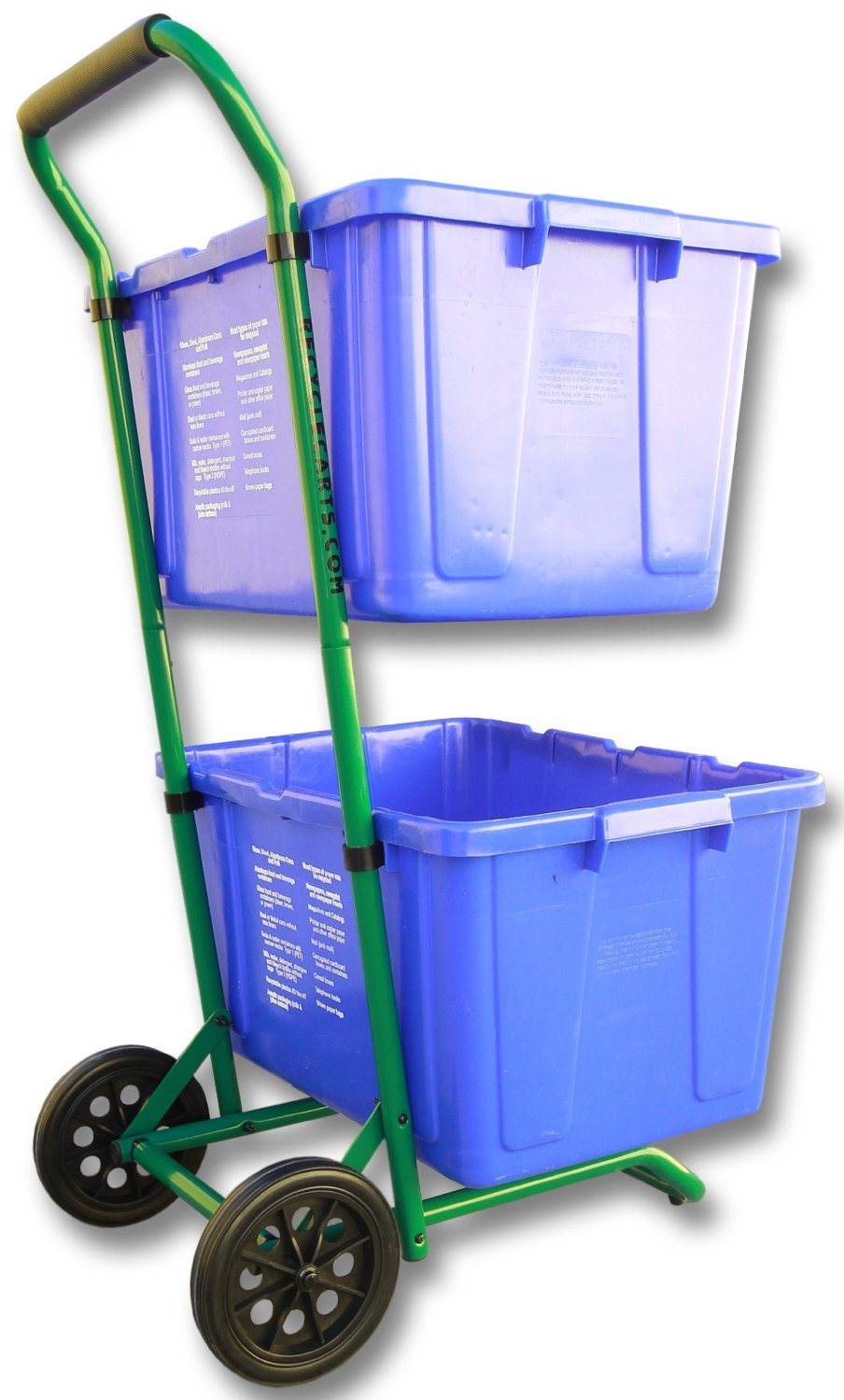 Recycle Cart for Recycle Bins Robust Recycle Cart for Simple Recycle Bin Moving | Recycle Caddy