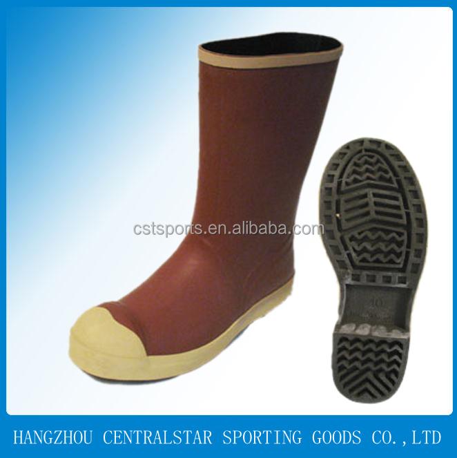 Men Rubber Rain Safety Work Boots Shoes/garden Work Boots