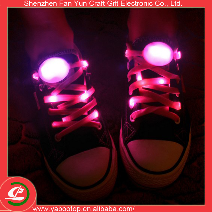 (Hot Sale) Custom Flashing Multi-Color Led Shoelace for Sneakers