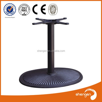 Hot Sell Cast Iron Metal Trestle Picnic Large Table Legs Buy Metal - Picnic table legs for sale