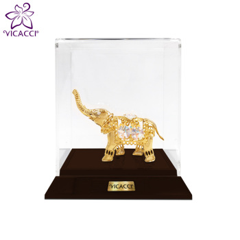 Good Quality 24K Gold Plated Baby Elephant
