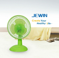 Plastic 2 speed control 6 inch table electric fan