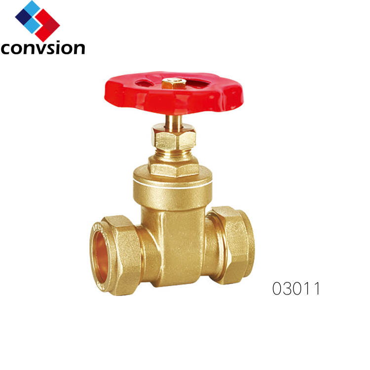 Threaded Type Brass BSP Thread Oil and Gas Pipeline Gate Valve