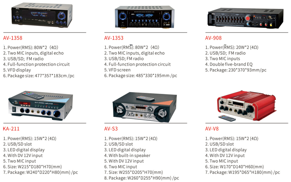 2015 New Audio Power Amplifier With Usb Fm China Supplier