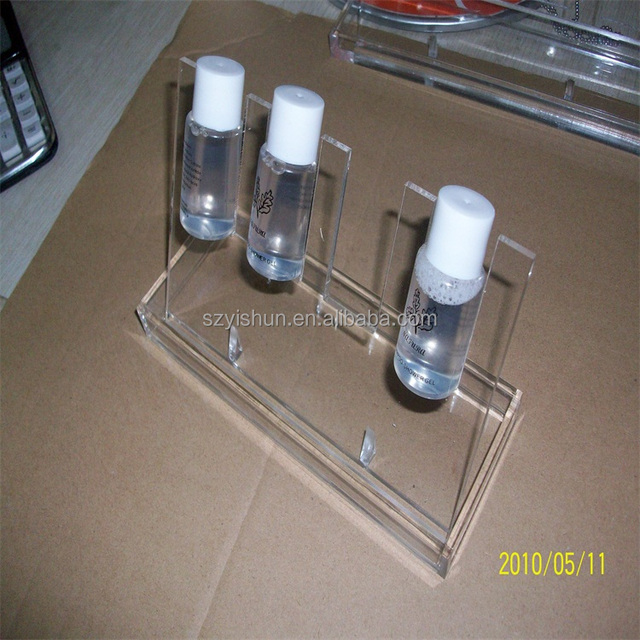 popular acrylic bathroom accessories display stand - Bathroom Accessories Display