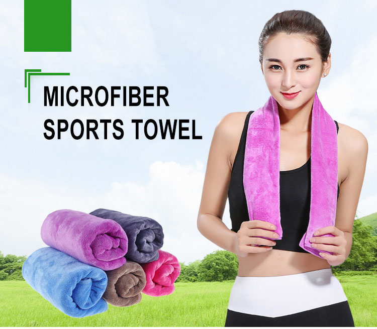 Good Price Microfibre Gym Towel Gift with logo