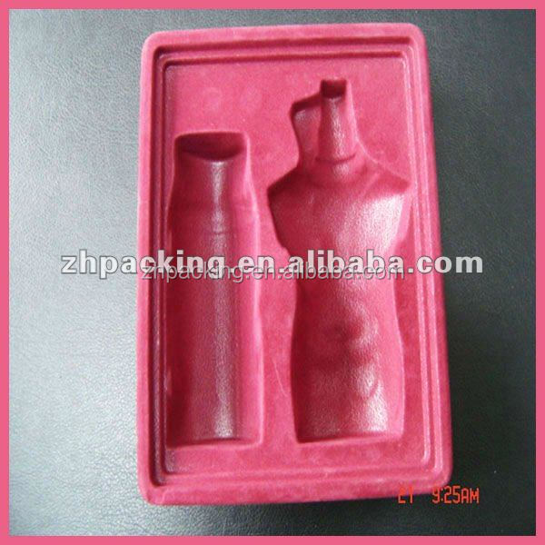 Plastic Disposable Packaging Tray Skin Care Product Blister Tray