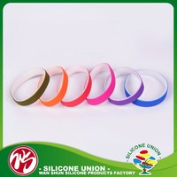 Advertising promotion best price silicone sport item event wristbands