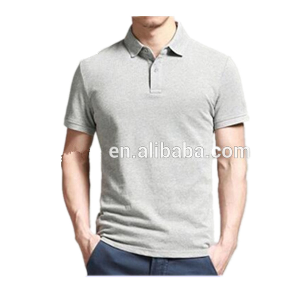 Men's 100%Organic Cotton Pique Fabric Blank Custom Design Polo Shirt Work Uniform Dry Fit Unisex Polo Shirt