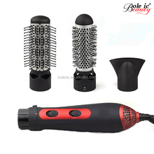 3 in 1 Professional Electric Hot Air Brush 2017 New Arrival Electric Hair Styling Brush