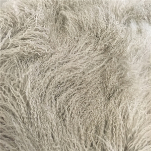 Long curly sheep fur merino sheep skins
