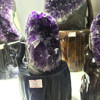 Natural Rock Small Amethyst Geode Cluster Crystal Ornaments Wholesale