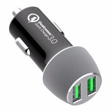 24 w Car Charger 2-Port 4.8A PowerDrive 2 <span class=keywords><strong>Elite</strong></span> com PowerIQ Tecnologia Ultra-Compacto para o iphone X /8/7/6 s/Plus, iPad Pro/Ai