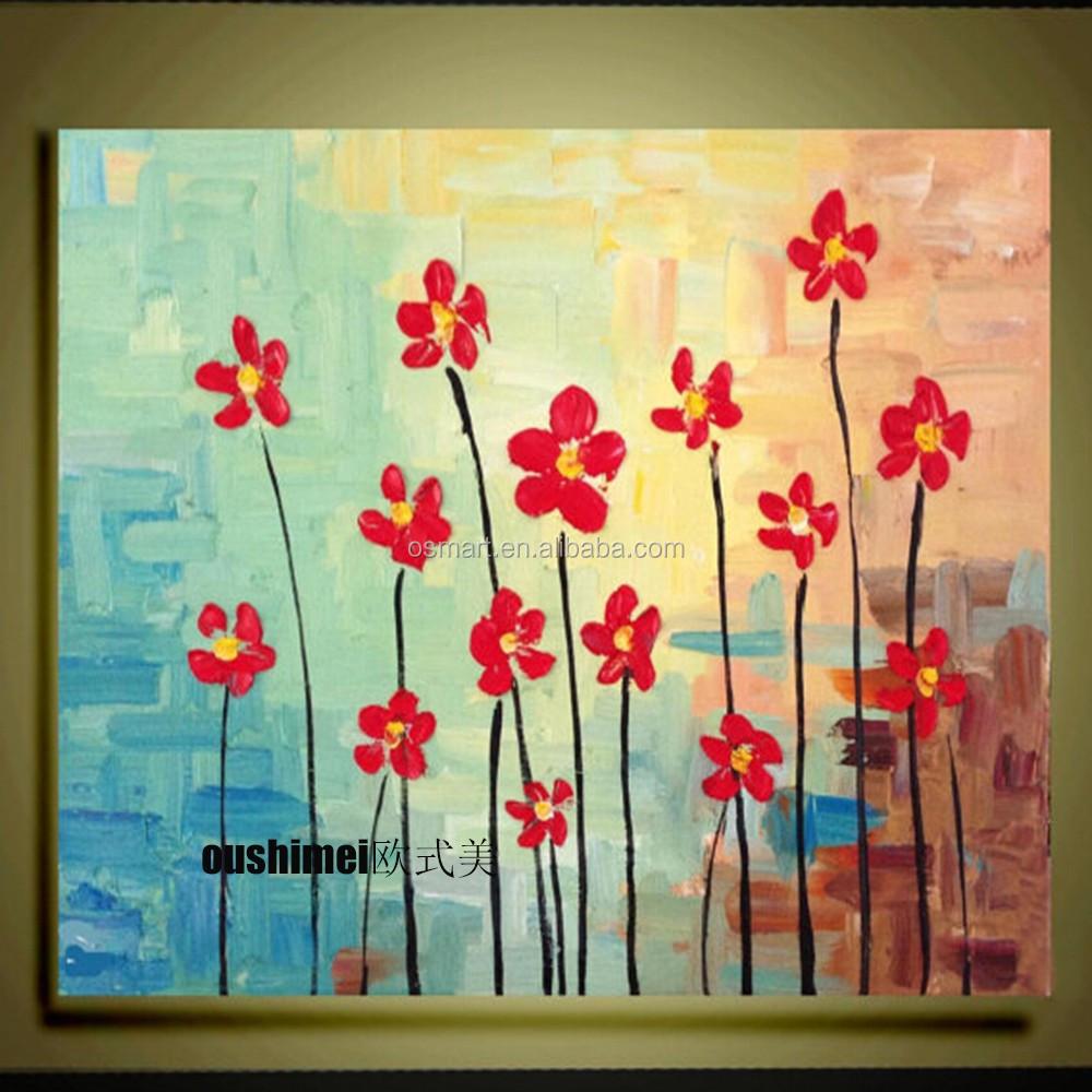 Bunga Lukisan Yg Mudah