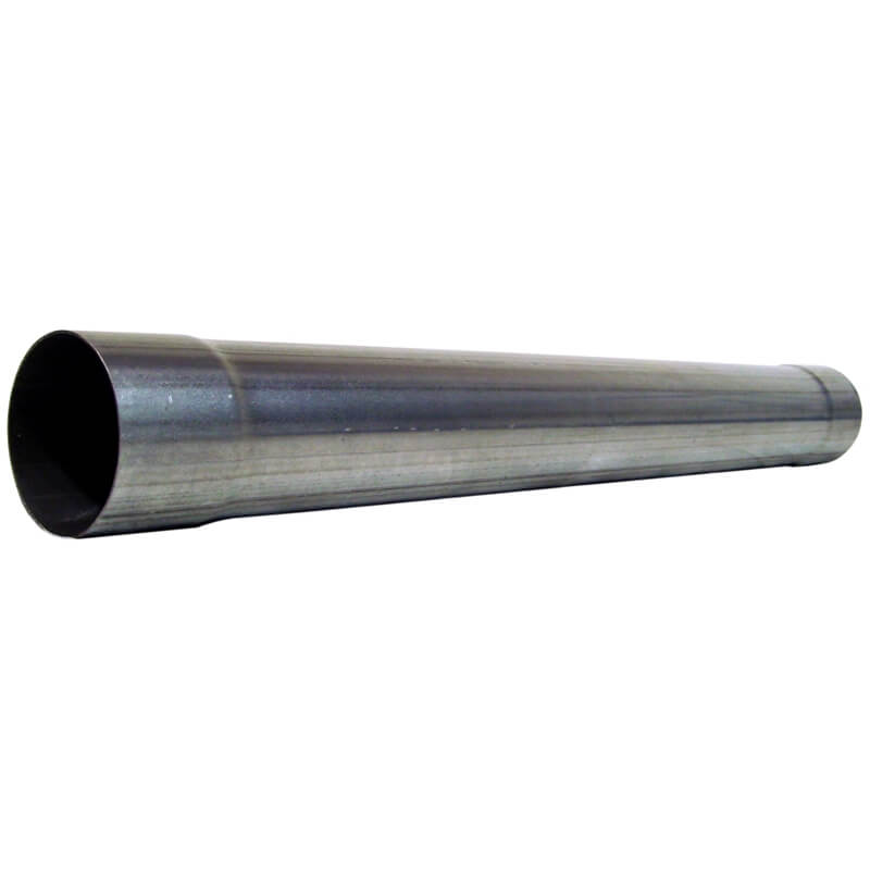 304 Stainless Steel 4 inch muffler delete pipe for diesel exhaust