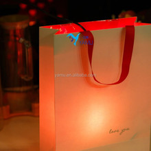 Han edition small pure and fresh and gift bag paper bag birthday Wedding romantic love gift packing bag