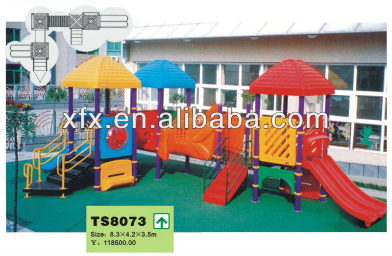 Toy Playground ,Large Outdoor Amusement Park playground Equipment