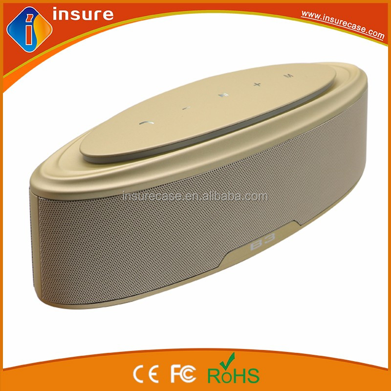 2017 most popular big battery capacity 4400mah bluetooth speaker 20w for wholesale