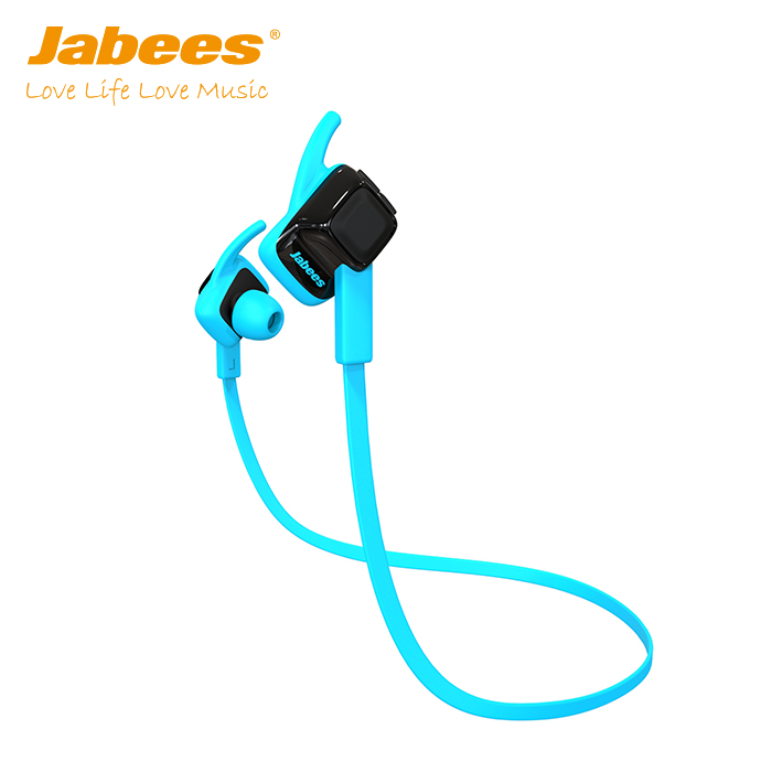 2017 mobile accessories market Jabees brand hot selling waterproof stereo bluetooth wireless earphones