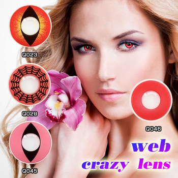 yearly soft colored contact lenses halloween sparkle contact lens