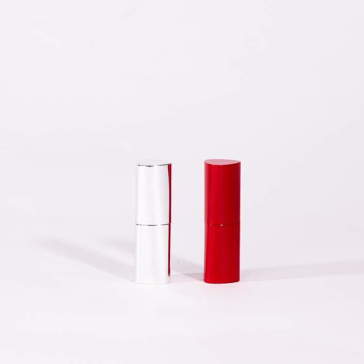 Fare il vostro proprio lucido rosso/argento magnetico di plastica tubo del rossetto