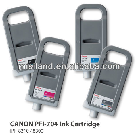 China Accredited Supplier Original Pfi-704 Ink Cartridge For Canon ...