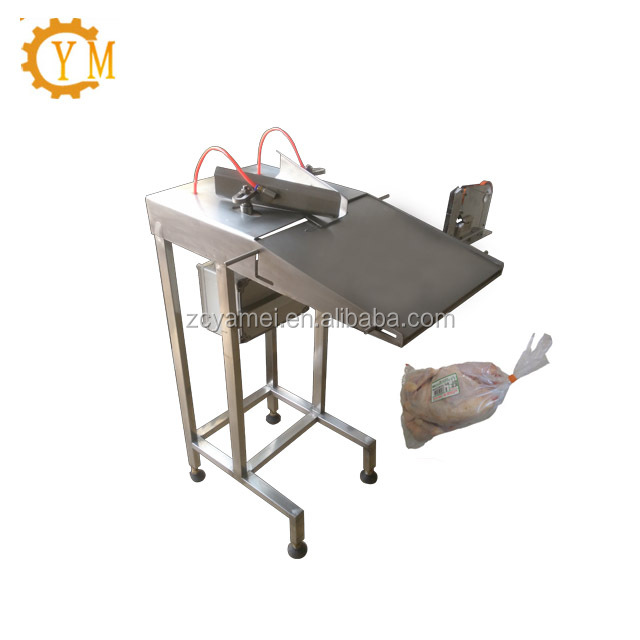 stainless steel automatic poultry loader with clippers