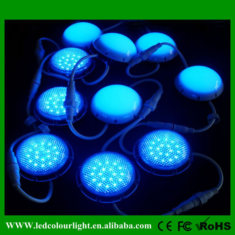 led christmas lights 50mm led pixels rgb outdoor wall pixels product