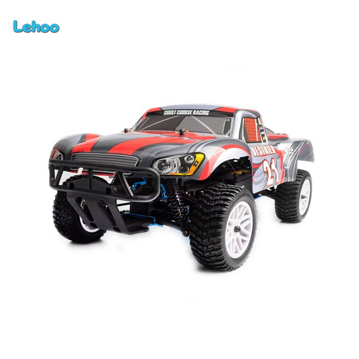 Toys wholesale 2.4G 1/10 scale 4WD Nitro gas racing Rally car 18cxp engine short course truck HSP car 94155