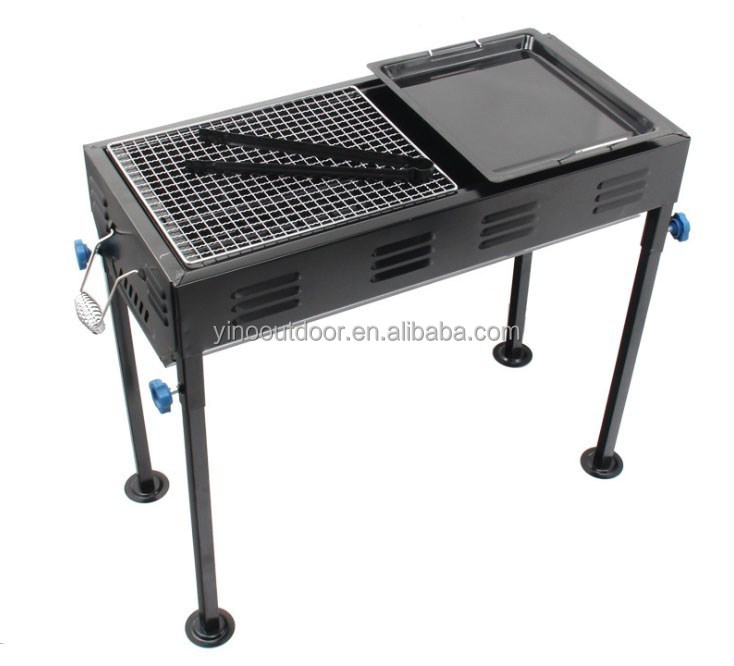 Charcola BBQ grill table top BBQ grill portable table top grill stand